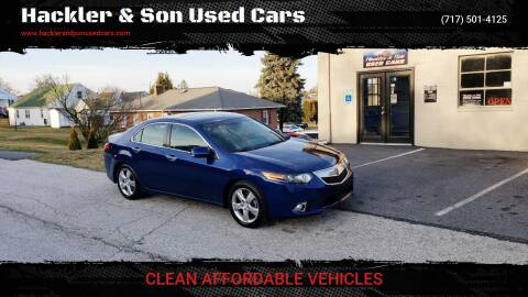 2011 Acura TSX for sale at Hackler & Son Used Cars in Red Lion PA