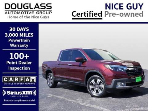 2019 Honda Ridgeline for sale at Douglass Automotive Group - Douglas Volkswagen in Bryan TX