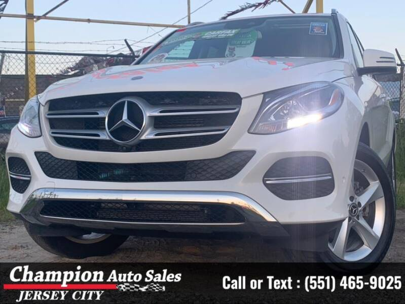2017 Mercedes-Benz GLE for sale at CHAMPION AUTO SALES OF JERSEY CITY in Jersey City NJ