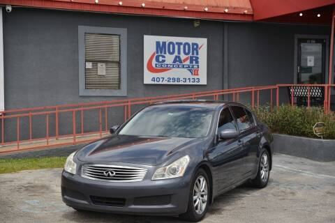 2007 Infiniti G35 for sale at Motor Car Concepts II - Kirkman Location in Orlando FL