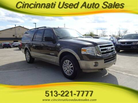 2008 Ford Expedition EL for sale at Cincinnati Used Auto Sales in Cincinnati OH
