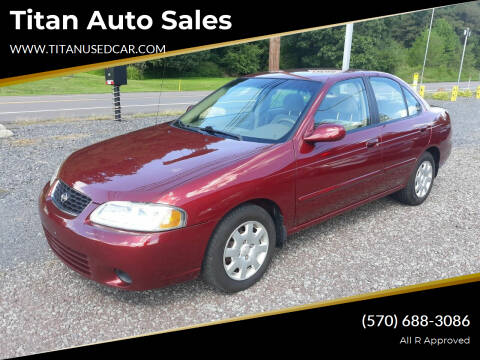 2002 Nissan Sentra for sale at Titan Auto Sales in Berwick PA