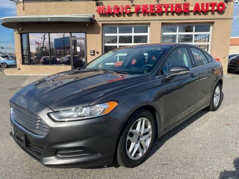 2016 Ford Fusion for sale at MAGIC AUTO SALES - Magic Auto Prestige in South Hackensack NJ