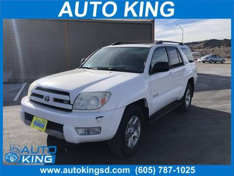2003 Toyota 4Runner for sale at Auto King in Rapid City SD