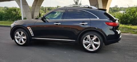 2010 Infiniti FX50 for sale at Auto Wholesalers in Saint Louis MO