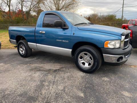 2004 Dodge Ram Pickup 1500 for sale at K & P Used Cars, Inc. in Philadelphia TN