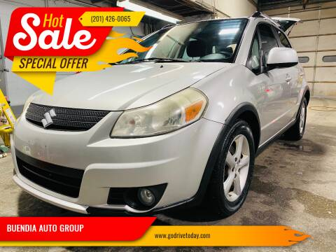 2008 Suzuki SX4 Crossover for sale at BUENDIA AUTO GROUP in Hasbrouck Heights NJ