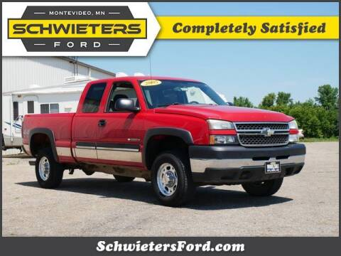2005 Chevrolet Silverado 2500HD for sale at Schwieters Ford of Montevideo in Montevideo MN