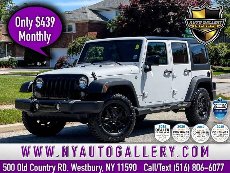 2018 Jeep Wrangler JK Unlimited for sale in Westbury, NY