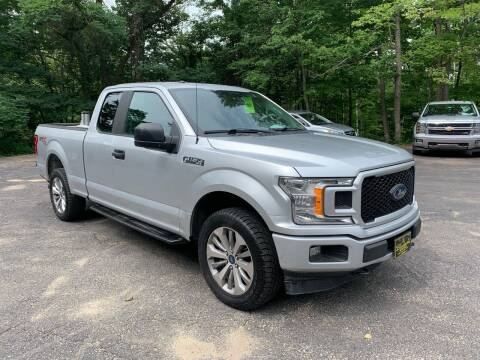 2018 Ford F-150 for sale at Bladecki Auto LLC in Belmont NH
