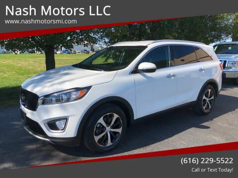 2016 Kia Sorento for sale at Nash Motors LLC in Hudsonville MI