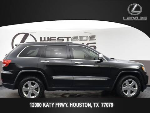 2013 Jeep Grand Cherokee for sale at LEXUS in Houston TX