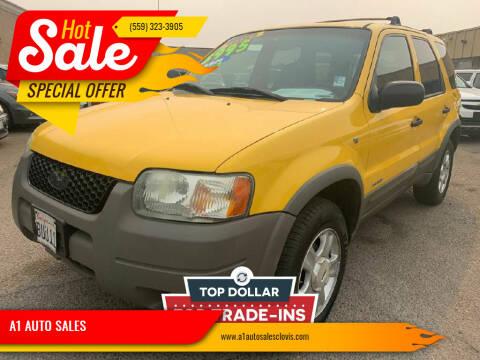2001 Ford Escape for sale at A1 AUTO SALES in Clovis CA