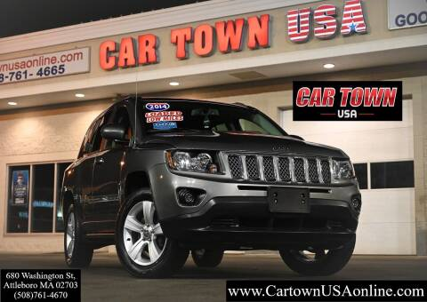 2014 Jeep Compass for sale at Car Town USA in Attleboro MA