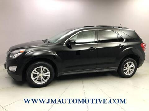 2017 Chevrolet Equinox for sale at J & M Automotive in Naugatuck CT
