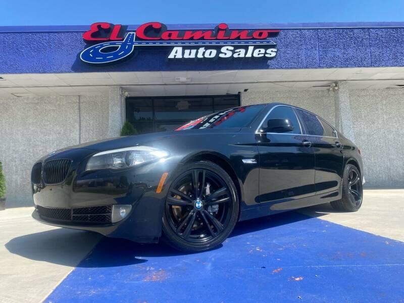 2011 BMW 5 Series for sale at El Camino Auto Sales Gainesville in Gainesville GA
