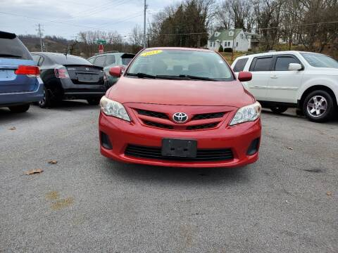 2011 Toyota Corolla for sale at DISCOUNT AUTO SALES in Johnson City TN
