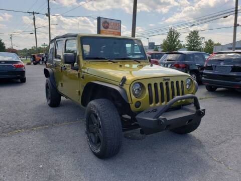 2007 Jeep Wrangler Unlimited for sale at Cars 4 Grab in Winchester VA