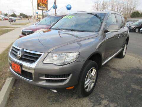 2008 Volkswagen Touareg 2 for sale at Fox River Motors, Inc in Green Bay WI