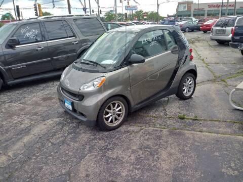 2010 Smart fortwo for sale at Arak Auto Group in Bourbonnais IL