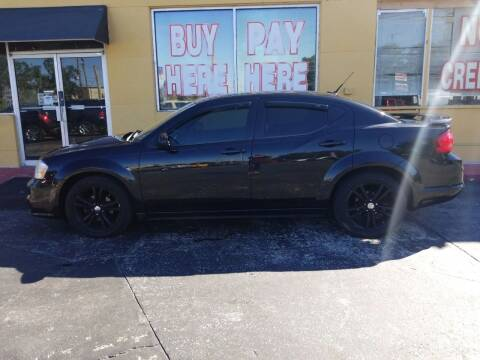 2011 Dodge Avenger for sale at BSS AUTO SALES INC in Eustis FL