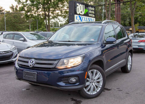 2014 Volkswagen Tiguan for sale at EXCLUSIVE MOTORS in Virginia Beach VA