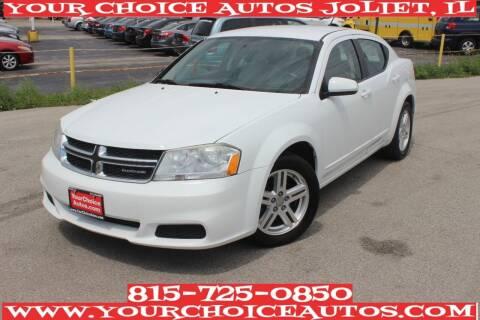 2012 Dodge Avenger for sale at Your Choice Autos - Joliet in Joliet IL