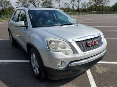 2012 GMC Acadia for sale at CON ALVARO ¡TODOS CALIFICAN!™ in Columbia TN