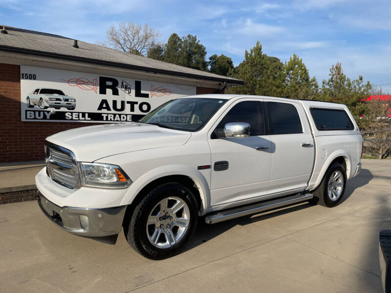 2015 RAM Ram Pickup 1500 for sale at R & L Autos in Salisbury NC