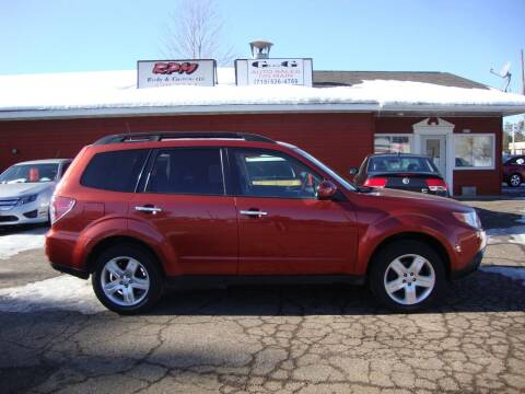 2010 Subaru Forester for sale at G and G AUTO SALES in Merrill WI