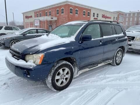 2003 Toyota Highlander for sale at COLT MOTORS in Saint Louis MO