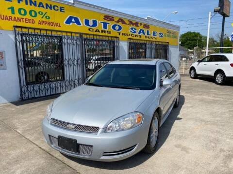 2013 Chevrolet Impala for sale at Sam's Auto Sales in Houston TX