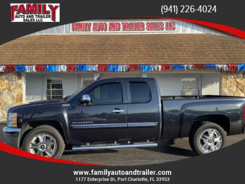 2013 Chevrolet Silverado 1500 for sale at Family Auto and Trailer Sales LLC in Port Charlotte FL