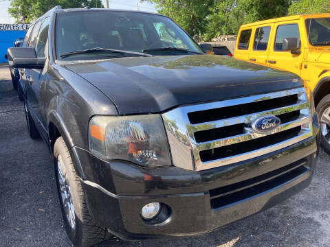 2011 Ford Expedition for sale at The Peoples Car Company in Jacksonville FL