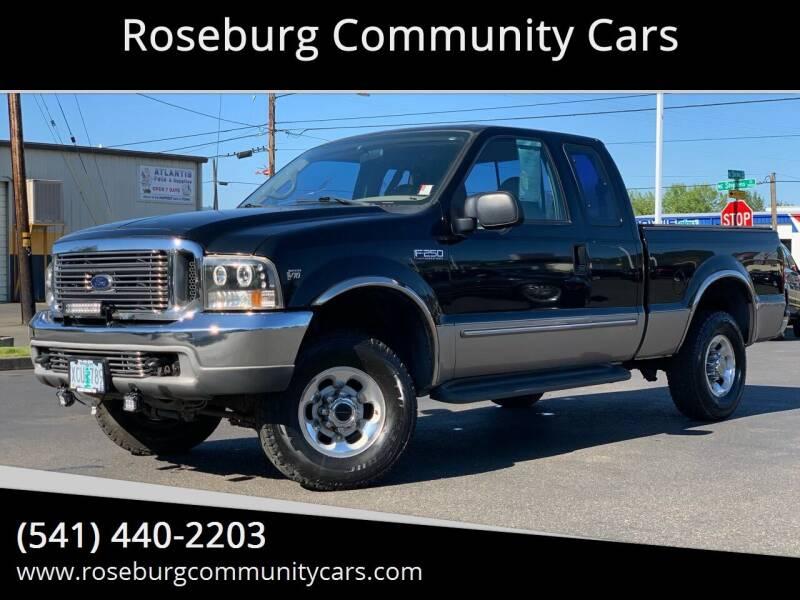 1999 Ford F-250 Super Duty for sale at Roseburg Community Cars in Roseburg OR