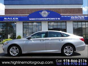 2019 Honda Accord for sale at Highline Group Motorsports in Lowell MA