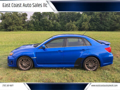2011 Subaru Impreza for sale at East Coast Auto Sales llc in Virginia Beach VA
