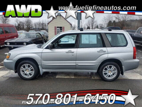 2005 Subaru Forester for sale at FUELIN FINE AUTO SALES INC in Saylorsburg PA