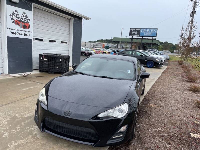 2013 Scion FR-S for sale at NATIONAL CAR AND TRUCK SALES LLC - National Car and Truck Sales in Concord NC