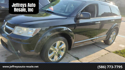 2010 Dodge Journey for sale at Jeffreys Auto Resale, Inc in Clinton Township MI