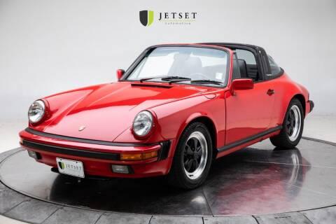 1988 Porsche 911 for sale at Jetset Automotive in Cedar Rapids IA