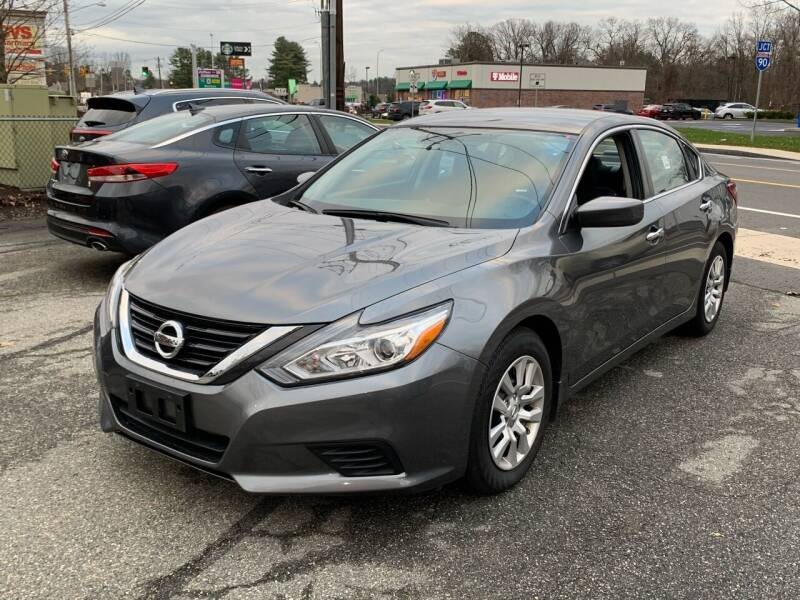 2018 Nissan Altima for sale at Ludlow Auto Sales in Ludlow MA