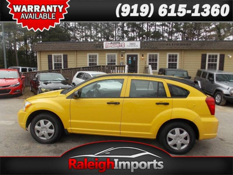 2007 Dodge Caliber for sale at Raleigh Imports in Raleigh NC