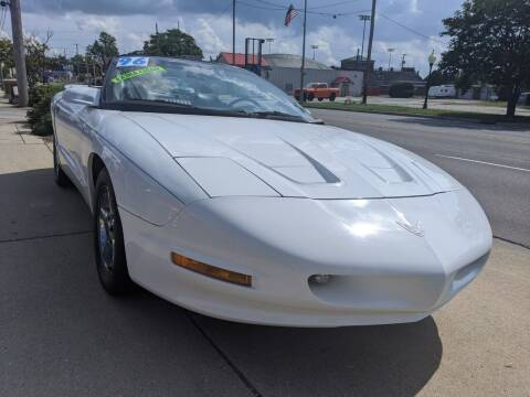 1996 Pontiac Firebird for sale at GREAT DEALS ON WHEELS in Michigan City IN