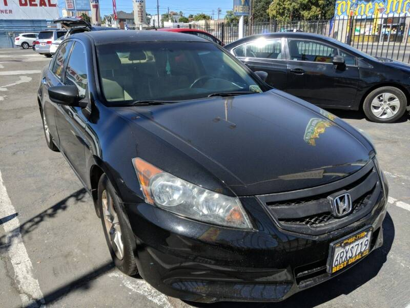 2011 Honda Accord for sale at Best Deal Auto Sales in Stockton CA