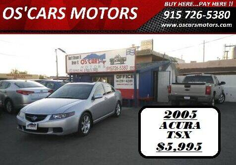 2005 Acura TSX for sale at Os'Cars Motors in El Paso TX