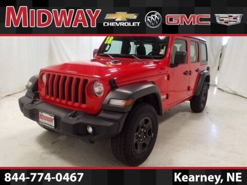 2018 Jeep Wrangler Unlimited for sale at Midway Auto Outlet in Kearney NE