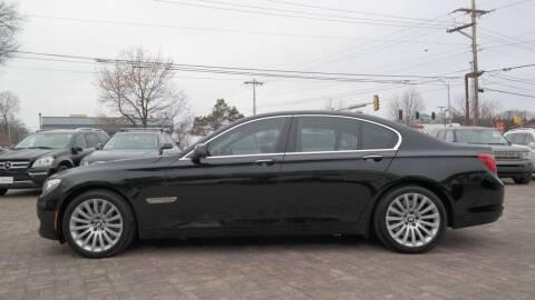 2012 BMW 7 Series for sale at Cars-KC LLC in Overland Park KS