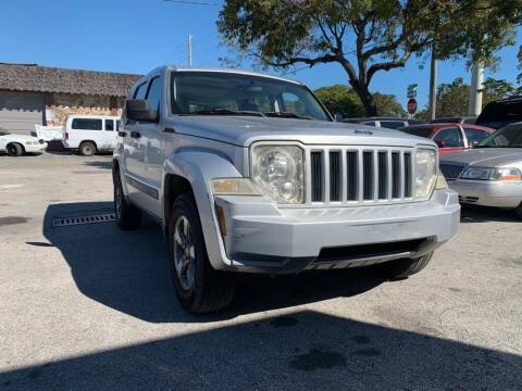 2008 Jeep Liberty for sale at YID Auto Sales in Hollywood FL