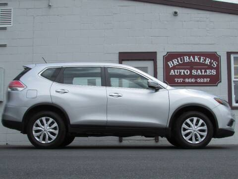 2015 Nissan Rogue for sale at Brubakers Auto Sales in Myerstown PA